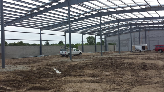 General Plastics Building Addition - WI Construction Project by Wes Allen Construction Co.
