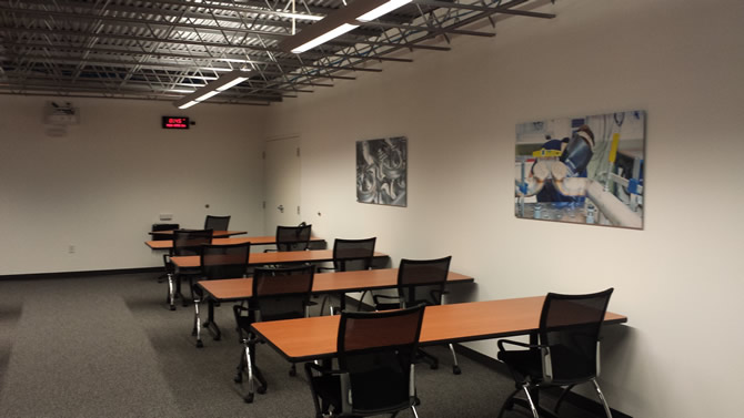 Krones Inc. Conference Rooms - WI Construction Project by Wes Allen Construction Co.