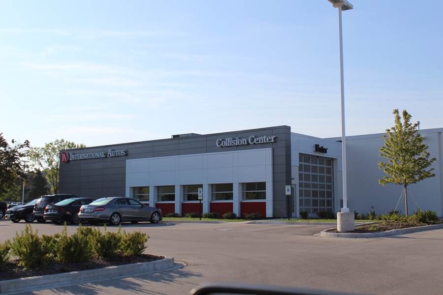 International Autos Collision Center Renovation